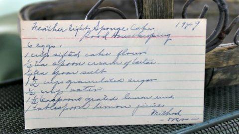 Feather Light Sponge Cake