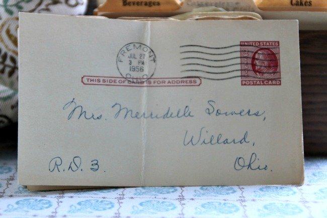 Merridelle Sowers Postcard