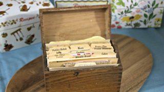 Vintage Recipe Box 2 From Ohio