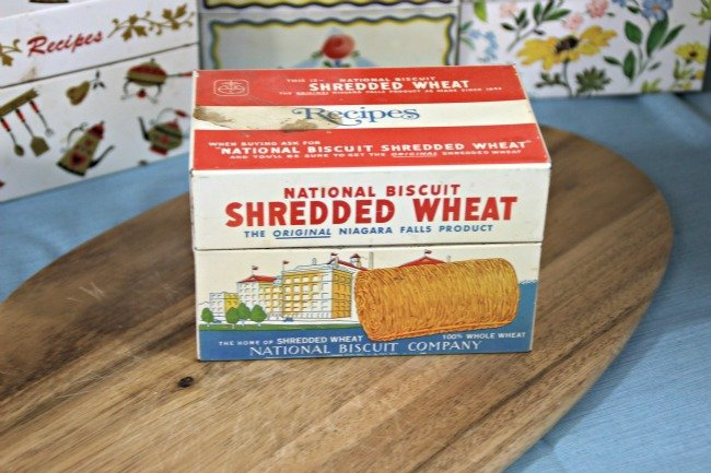 VRP006 - Shredded Wheat Tin Box