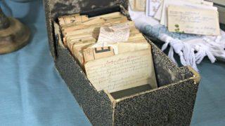 Vintage Recipe Box 10 – Cardboard Box