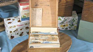 Vintage Recipe Box 11 – Wood Box