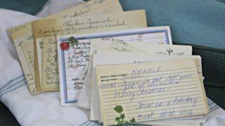 Vintage Recipe Box 13 – No Box