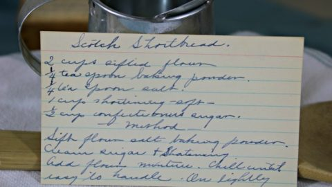 scotch shortbread