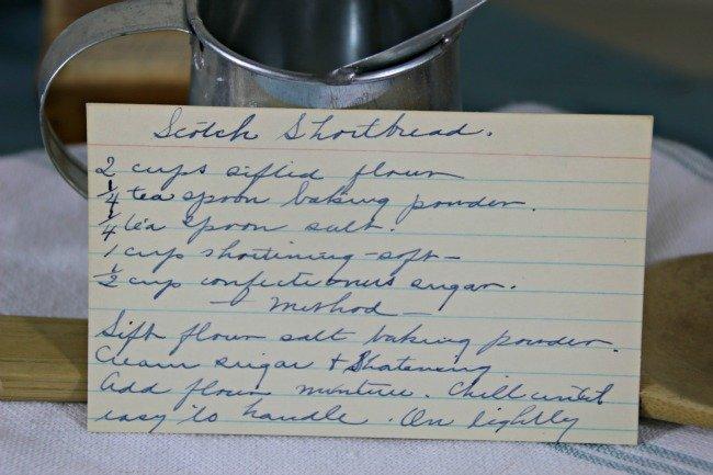 Scotch Shortbread - Vintage Recipe Project