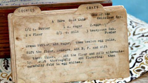 A Darn Good Cake