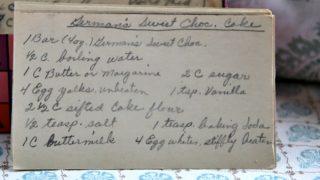 German Sweet Chocolate Cake