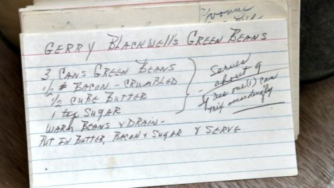 Gerry Blackwells Green Beans