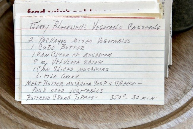 Gerry Blackwell's Vegetable Casserole