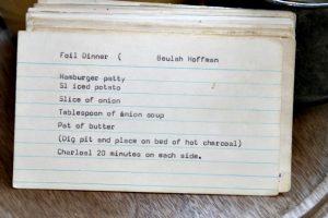 Hamburger Patty Foil Dinner