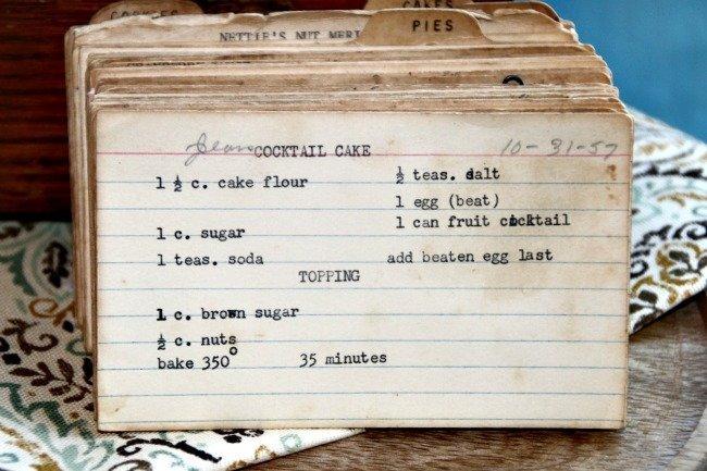 Jean's Cocktail Cake