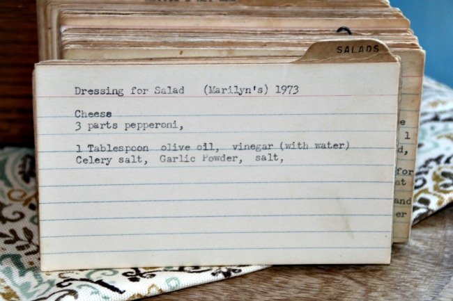 Marilyn's Dressing for Salad