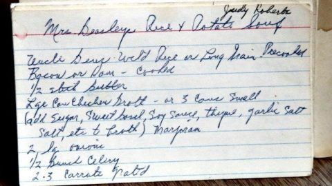 Mrs Beasleys Rice and Potato Soup