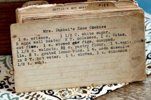 Mrs Dunkels Christmas Cookies