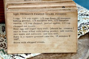 Mrs Trumans Famous Ozark Pudding