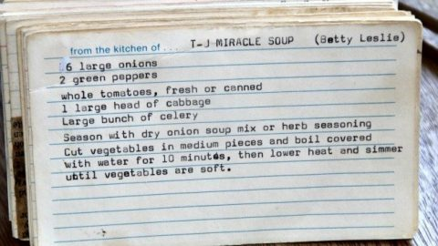 T J Miracle Soup