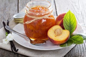 bigstock Peach vanilla jam 83095694