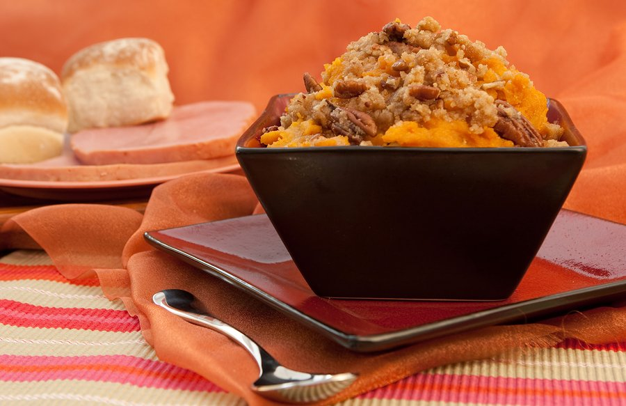 Sweet Potato Souffle - Vintage Recipe Project