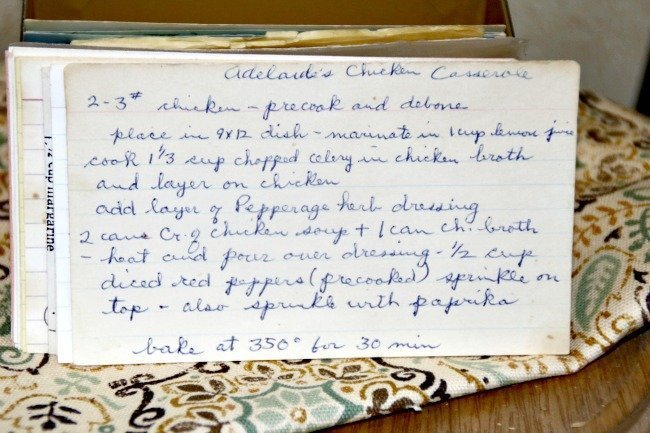 Adelaides Chicken Casserole