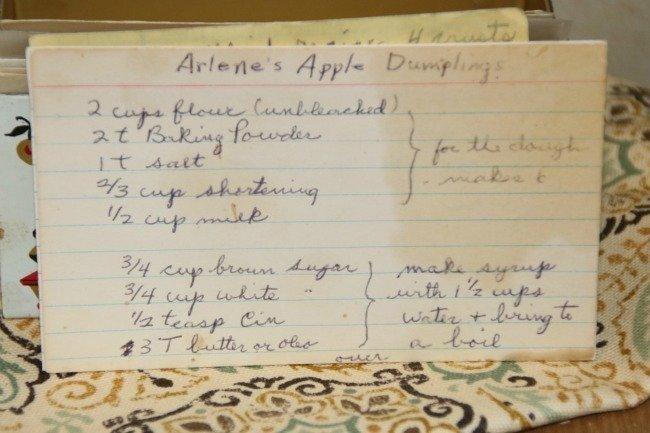 Arlenes Apple Dumplings