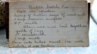 Butterscotch Pie (VRP 001)
