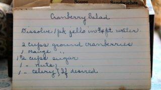 Cranberry Salad (VRP 001)