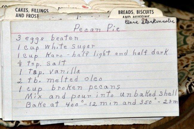 Elsie's Pecan Pie
