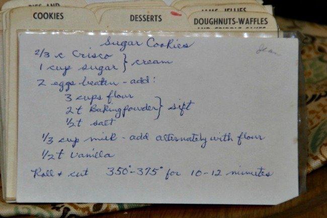 Jean's Sugar Cookies