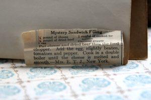 Mystery Sandwich Filling