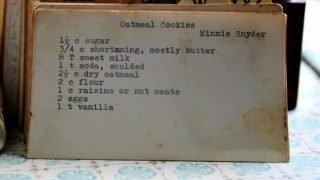 Oatmeal Cookies  (VRP 001)