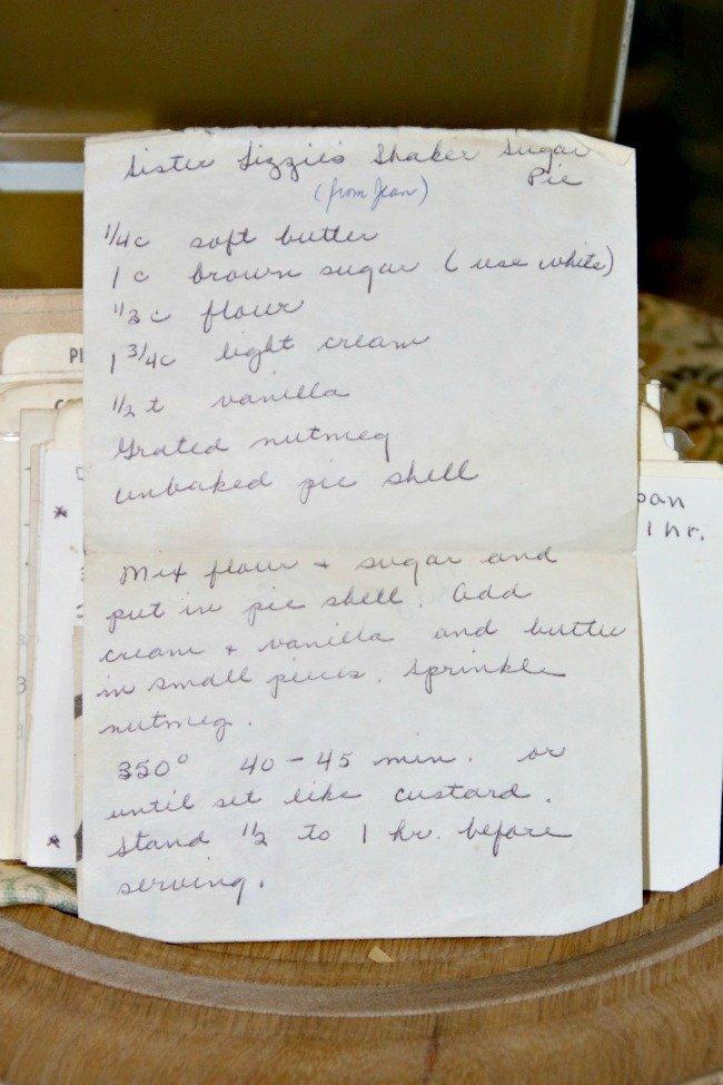 Sister Lizzie's Shaker Sugar Pie