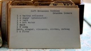 Soft Molasses Cookies (VRP 001)