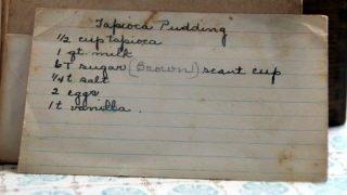 Tapioca Pudding (VRP 001)