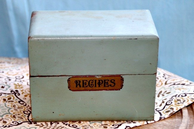 VRP031 Recipe Box