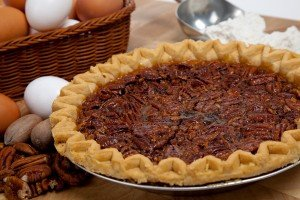bigstock Homemade Pecan Pie With Ingred 7449293