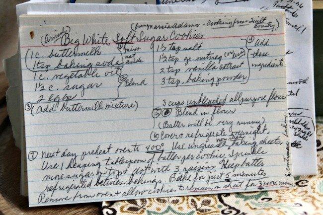 Amish Big White Soft Sugar Cookies