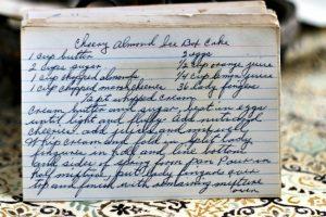 Cherry Almond Ice Box Cake