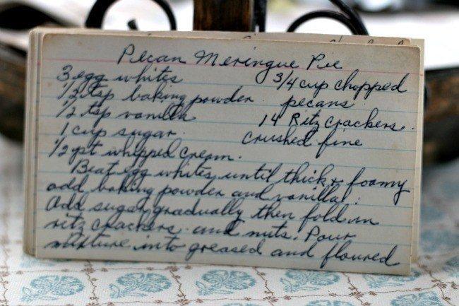 Pecan Meringue Pie