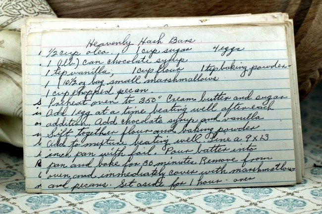 Heavenly Hash Bars | Vintage Recipe Project