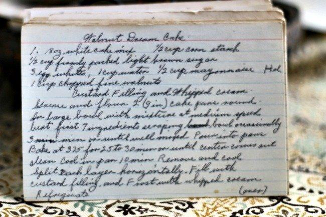 Walnut Dream Cake