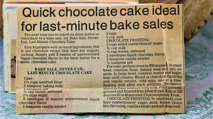 Bake Sale Never Fail Last Minute Chocolate Cake e1543205730660