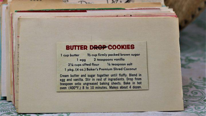 Butter Drop Cookies e1543394196335