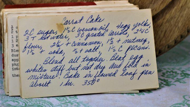 Carrot Cake Recipe (VRP 90)