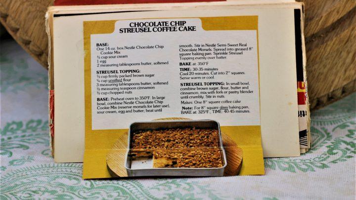 Chocolate Chip Streusel Coffee Cake e1543233935692