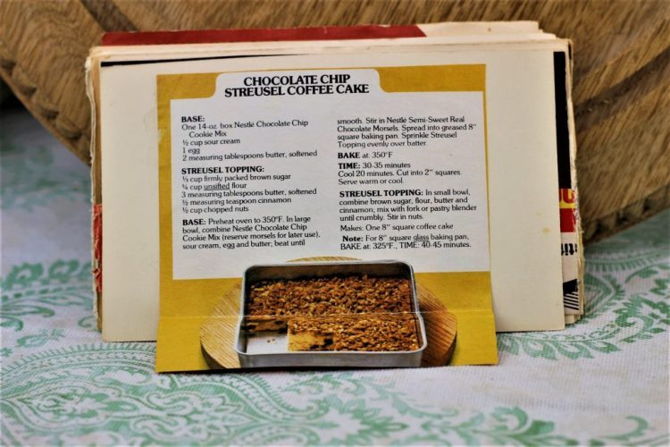 Chocolate Chip Streusel Coffee Cake 2