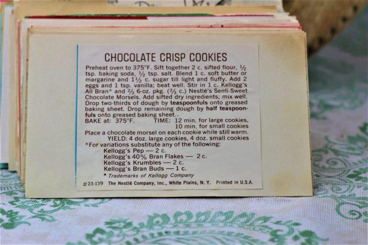 Chocolate Crisp Cookies