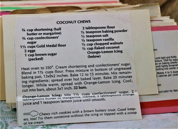 Coconut Chews