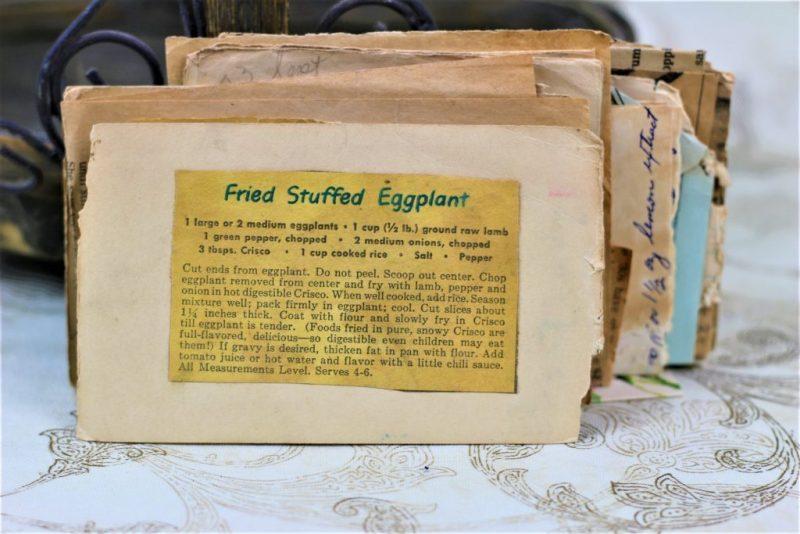 Fried Stuffed Eggplant