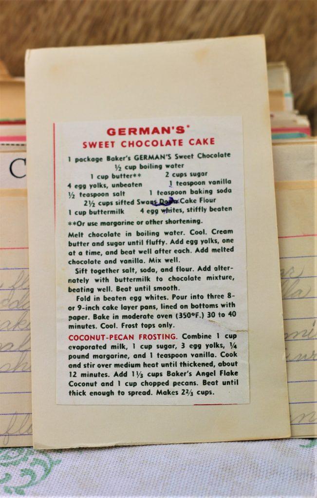 Germans Sweet Chocolate Cake