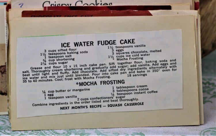 Ice Water Fudge Cake